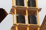 Fin des travaux de construction du château d'eau du marché de Mboud
