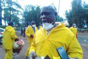 Journée de désinfection du marché central de Mbouda et de la gare routière